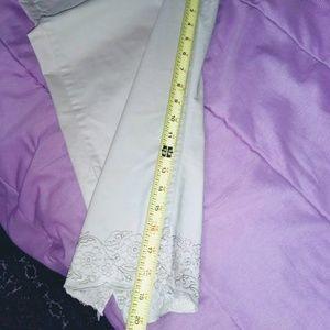 Gloria Vanderbilt Pants - Gloria Vanderbilt Perfect Fit Embroidered Capri
